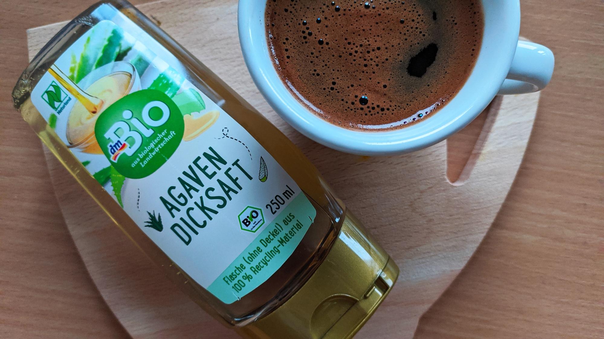 Sirup za zaslađivanje od soka agave