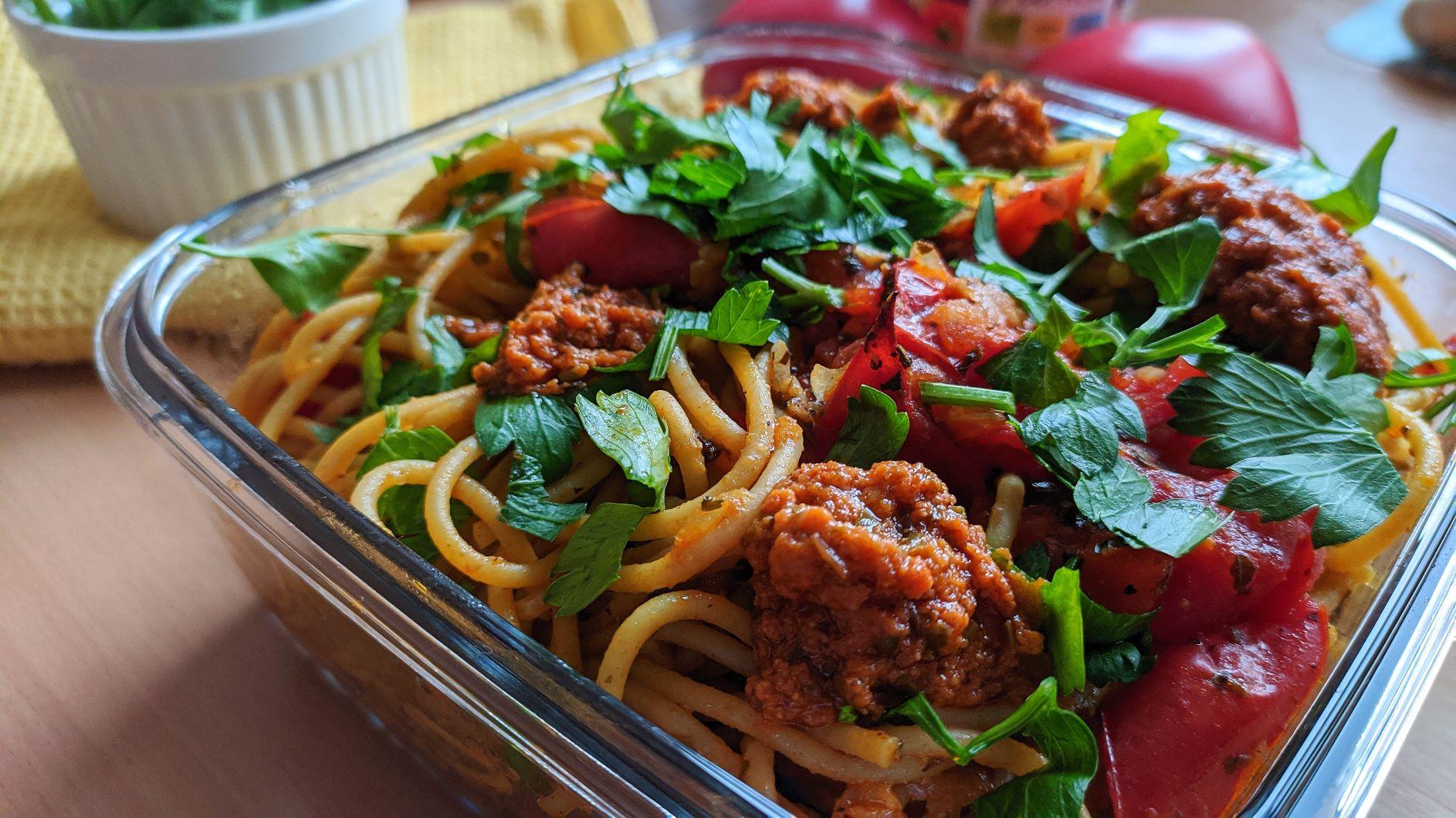 Integralna pasta s paradajzom
